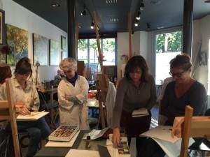 ©roche gardies peintre expo stage atelier batignolles 2015 4