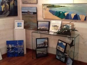 ©RocheGardies  roche gardies peintre  saint malo expo galerie les artistes et la mer avions bateaux  la rance saint briac  la grande hermine 2015  8