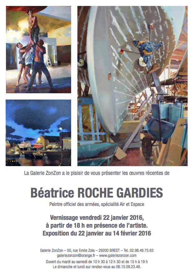 exposition solo du 22 janvier au 14 f vrier brest roche gardies. Black Bedroom Furniture Sets. Home Design Ideas