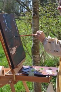 ©RocheGardies peintre stage. Améliorez votre style de peinture en 3 jours 4