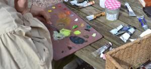 ©RocheGardies peintre stage. Améliorez votre style de peinture en 3 jours 6