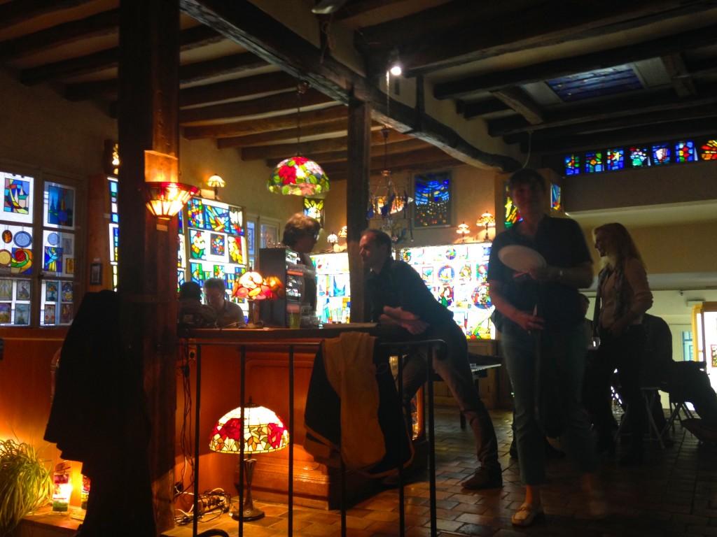 ©RocheGardies peintre ateliers loire  vernissage Exposition Chartres en vitrail  galerie du vitrail 2016 Pierre Carron, Didier Sancey, Tetsuo Harada,  Antoine Vincent , Leslie Xuereb.11