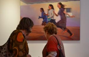 ©RocheGardies peintre   expo chez flora auvray arcitecte d'interieur Paris 2016  9