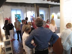 ©RocheGardies peintre ateliers loire  vernissage Exposition Chartres en vitrail  galerie du vitrail 2016 Pierre Carron, Didier Sancey, Tetsuo Harada,  Antoine Vincent , Leslie Xuereb. 18 - copie