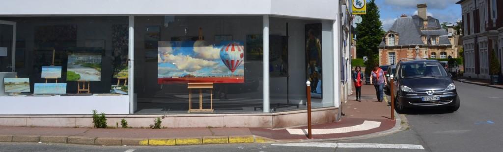 ©RocheGardies. peintre exposition chateau d'anet 2016