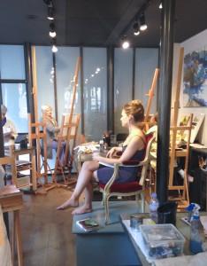 ©Roche gardies atelier des batignolles stage peinture 3